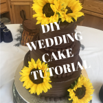 Chocolate Wedding Cake Tutorial,